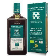 Aceite ecológico Marques de Prado en botella de 500 ml