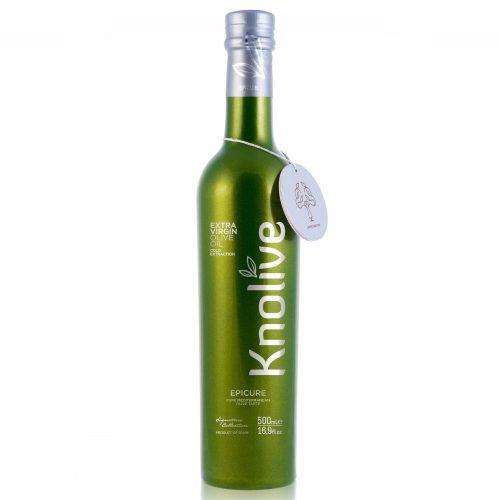 Aceite Knolive Epicure en botella de 500 ml
