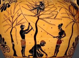 aceite en la antigüedad